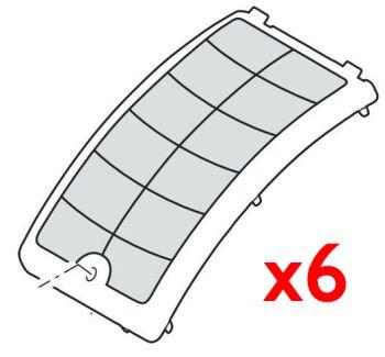 Set of 6 x 60 micron sieve - Biotec Premium 80000