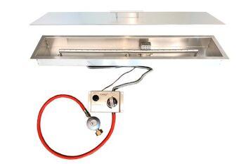 BRANN Internal Gas Burner Assembly - L