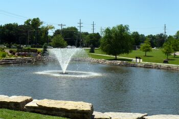 Gemini Floating Lake Fountains