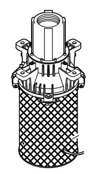 ASM motor section MIDI 1.1kW/ 50Hz/ 230V