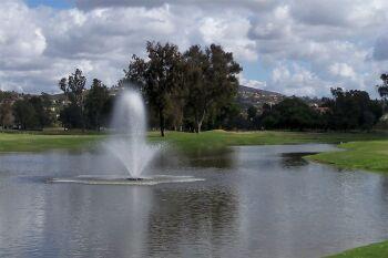 Phoenix Floating Lake Fountains