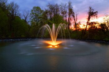 Constellation Floating Lake Fountains