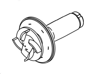 Spare Rotor for AquaMax Eco 8500 Pump