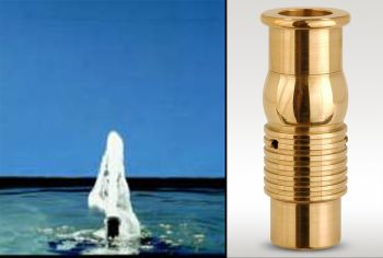 Foaming Jet Nozzle 23mm Bore - Bronze