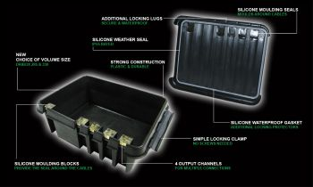 Weatherproof Box - Large (Black)