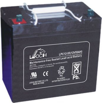 Solar Battery 12V DC - 55ah