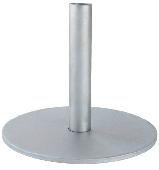 Round Metal Base for 3cm Oil Torch Stake