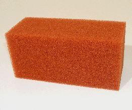 Biotec 12 Screenmatic single red filter foam