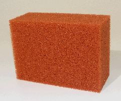 Biotec 18/36 single red filter foam