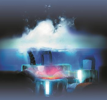 5 Membrane Rainbow LED Mister
