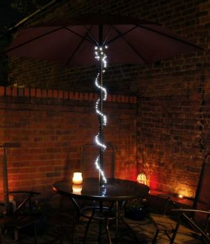 Solar Fairy Lights - 7 Metres (50 White LEDs)