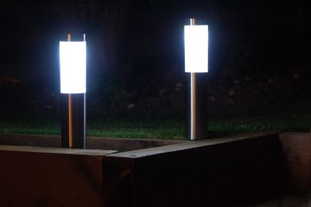 LONDON Solar Post Lights (Set of 2)
