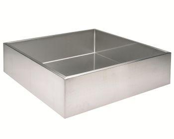 70 x 70 x 20cm square reservoir - 98 litres