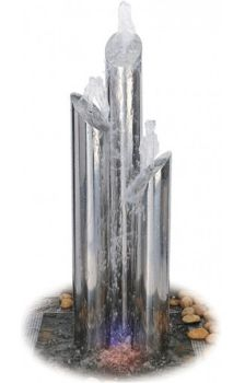 Avon Majestic- polished steel - 120cm tall