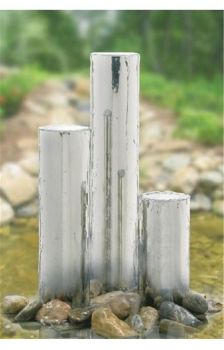 Tigris Polished Steel Water Feature 168mmØ x 1150mm