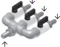 3 Outlet Air Valve Manifold