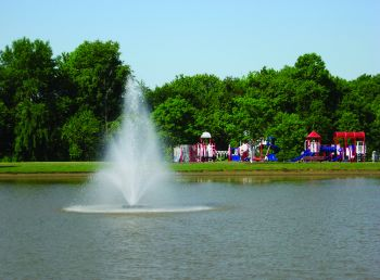 Tristar Floating Lake Fountain