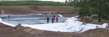 Protective Pond Underlay