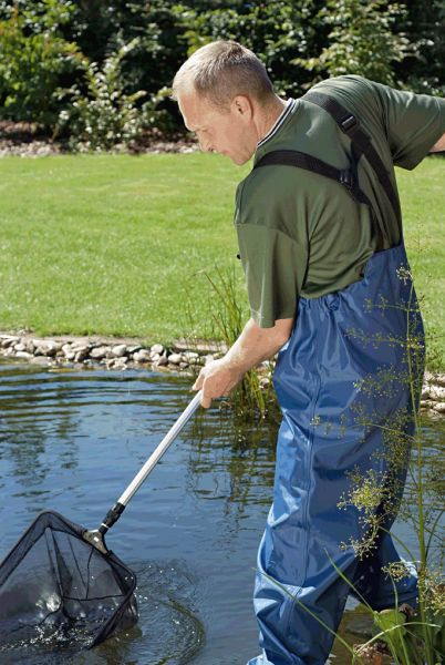 Profi fish net pond maintenance tools water garden uk for Large pond maintenance