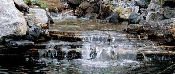 Waterfall Expanding Foam Filler | Touch 'n Foam - Water Garden