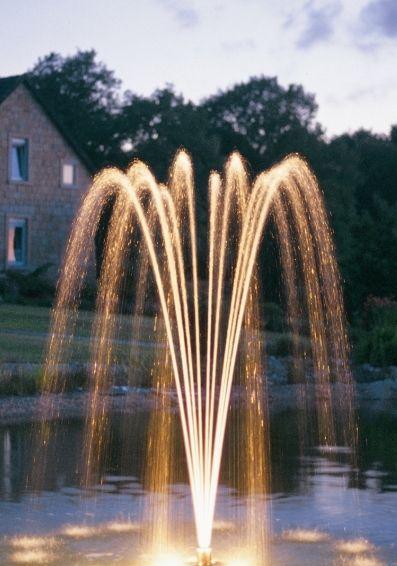 15 Jet Single Tier Fountain Nozzle