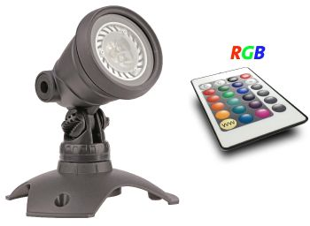 RGB LED Master Light Set with Remote - 3w