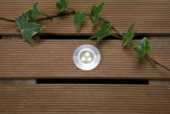 3 led warm white deck light outdoor lights water garden uk hover to zoom 42mm led deck light warm white 05w mozeypictures Images