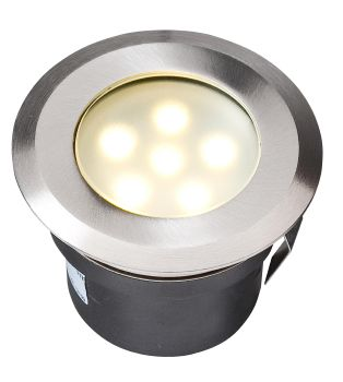 70mm LED Deck Light (Warm White) - 1w