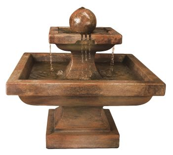 Low Equinox Real Stone Fountain