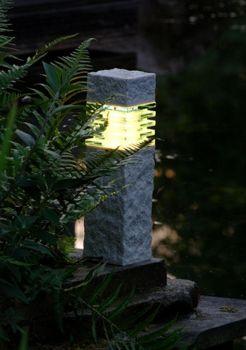 Stone Effect LED Pillar Light 40cm – 2w
