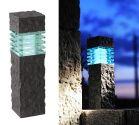 Granite Effect LED Pillar Light 40cm – 2w