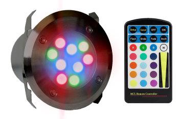 UltraLuxx RGB LED Deck Light + R/C - 18w