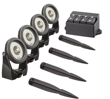 Lunaqua Power LED Spotlight Set