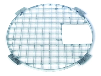 110cm Galv. Steel Grid with Access Hatch