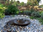 Swirler Radial Water Sculpture - Green