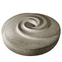 Millstone Radial Water Sculpture - Cream