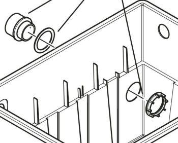 Spare drainage set BioTec 12 – 18