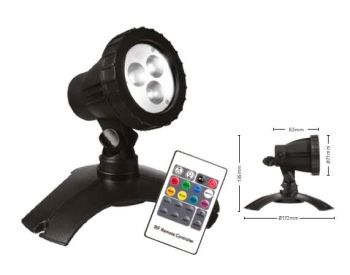 Hydra RGB LED Light Set 3 with Remote Control