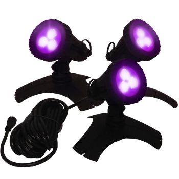 Hydra RGB LED Light Set 3 with Remote Control