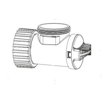 Inlet Flow Controller for Aquarius Universal 4000-12000