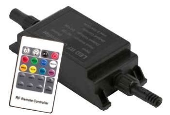 Remote Control & Receiver for Coloured LED Lights