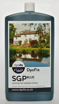 SGP Blue Pond Dye - Treats 100,000L