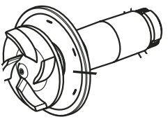 Impeller - Aquamax Eco R 6000/8000