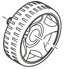 Pondovac 5 Spare Wheel