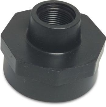 "PP Reducing Socket 1 1/4"" BSPF x 1"" BSPF"