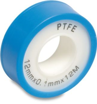 PTFE sealing tape 10m x 0.1 mm x width 12 mm