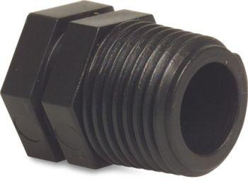 PP Plug 1 inch BSPM
