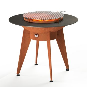 FORNO BBQ Fire Burner in Corten Steel