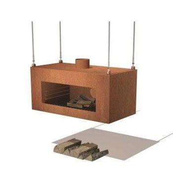 ENOK Roof Hanging Garden Fireplace