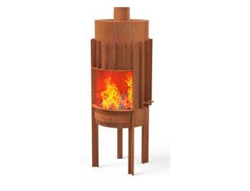 DRUCE Outdoor Fireplace Burner